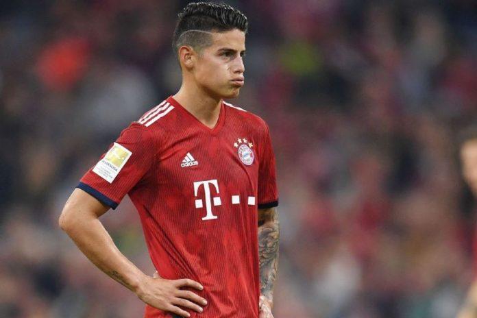 James Rodriguez Tolak Pinangan Arsenal