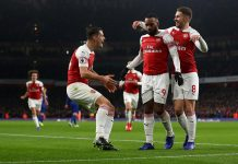 Arsenal Pecundangi Chelsea 2-0 di Emirates