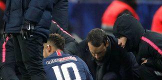 Neymar Kembali Cedera Saat Hadapi Strasbourg