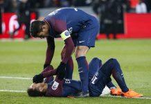 Neymar dan Lini Tengah PSG Cedera