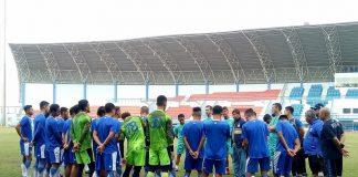 Miljan Radovic Gelar Latihan Perdana Persib Bandung
