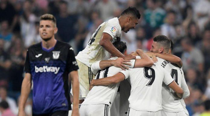 Real Madrid Menang Tiga Gol