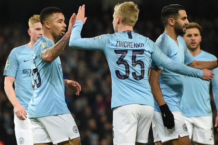 Man City Gilas Albion 9-0