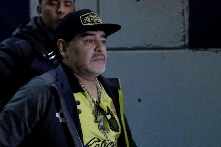 Baru Dua Hari Mundur, Maradona Kembali ke Gimnasia. Kok Bisa?