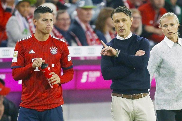 Masa Depan James Rodriguez di Bayern Tergantung Permainannya