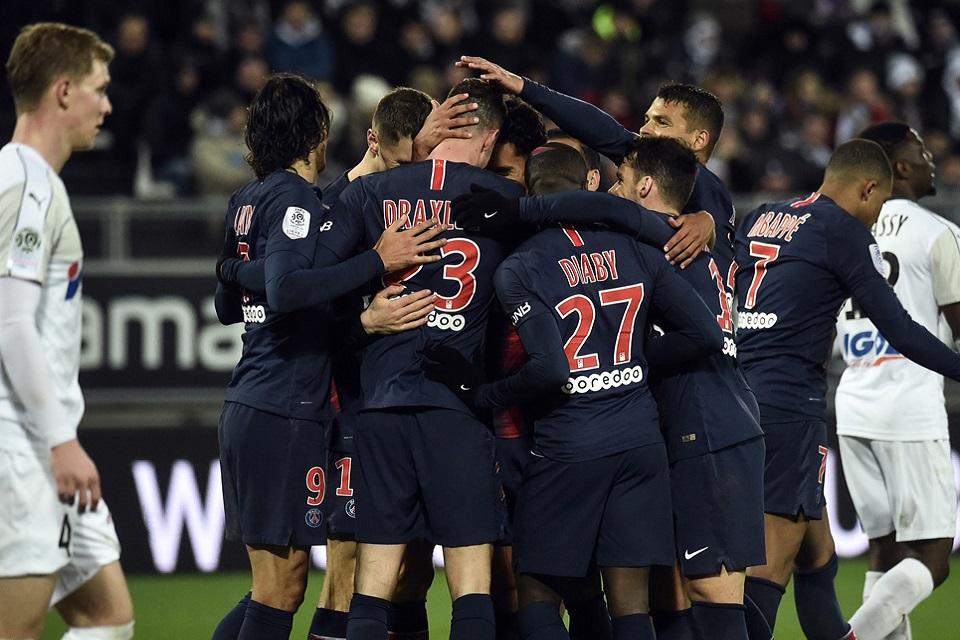 Usai Atasi Amiens 3-0, PSG Kian Kokoh Di Puncak Klasemen Sementara