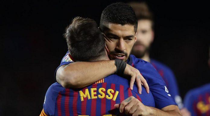 Messi dan Suarez Bawa Barca Kokoh di Puncak Klasemen Sementara