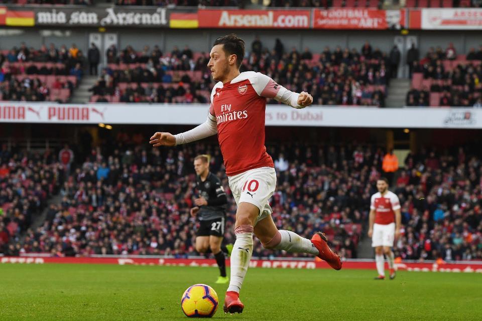 Ozil Bisa Bawa Dampak Buruk Bagi Arsenal