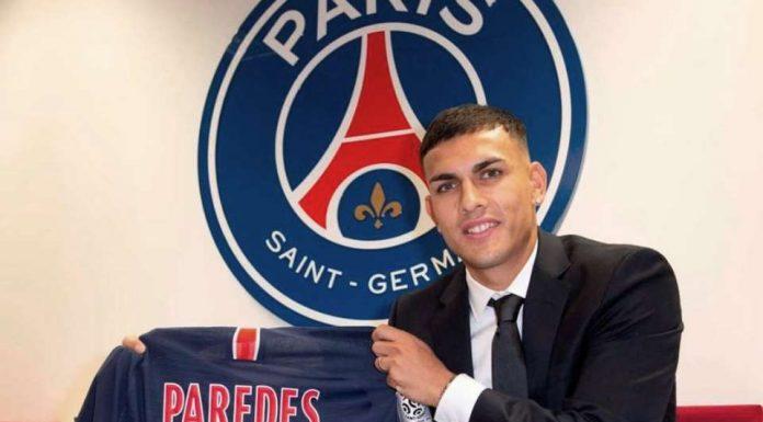 PSG Resmi Perkenalkan Leandro Paredes