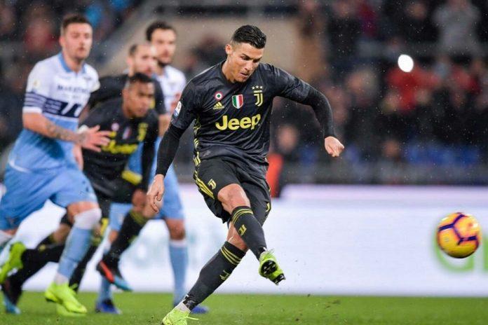 Gol Dari Titik Putih Bantu Ronaldo Raih Gol Terbanyak di Serie A