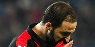 Punggawa Milan Ucapkan Salam Perpisahan Untuk Higuain