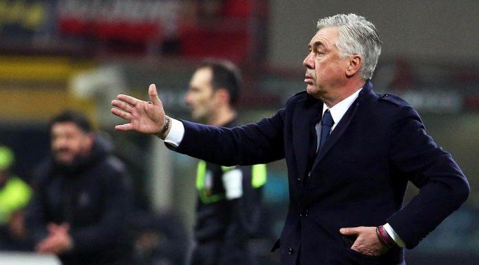 Ancelotti Kritik Pemain Napoli Terkait Hasil Imbang