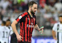 Rumor Higuain Buat Milan Berlatih Dengan Buruk