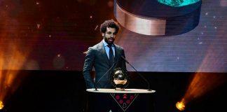 Untuk Kedua Kalinya, Salah Raih Penghargaan Pemain Terbaik Afrika