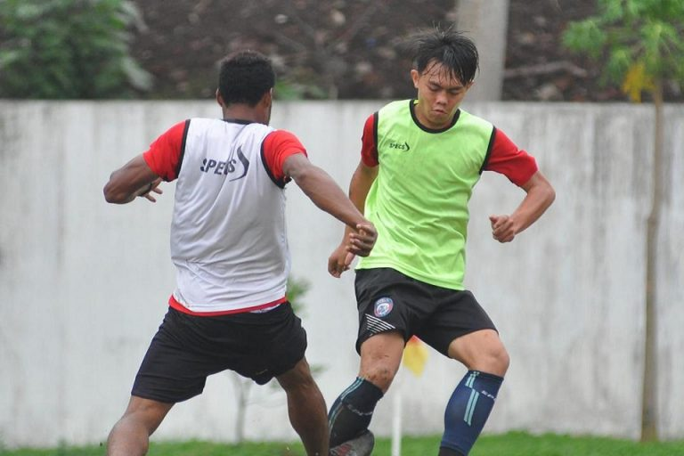 Vikrian Akbar Bakal Lakoni Laga Debut di Skuat Senior Arema FC
