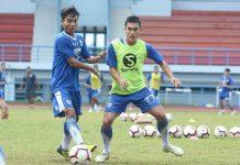 Demi Masuk Skuat Utama, Zalnando Tampil All-Out Saat Latihan Perdana di Persib