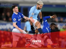 5 Fakta Kemenangan Manchester City Lawan Everton