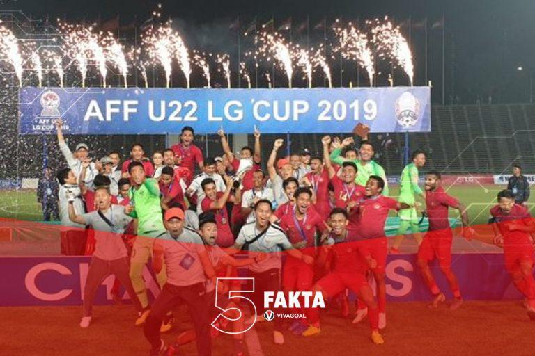 5 Fakta Perjuangan Indonesia Juara Piala AFF U-22