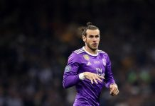Gareth Bale, Real Madrid, La Liga, Madrid Kalahkan Levante,