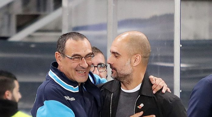Bantai Chelsea, Inilah Simpati Guardiola kepada Sarri!
