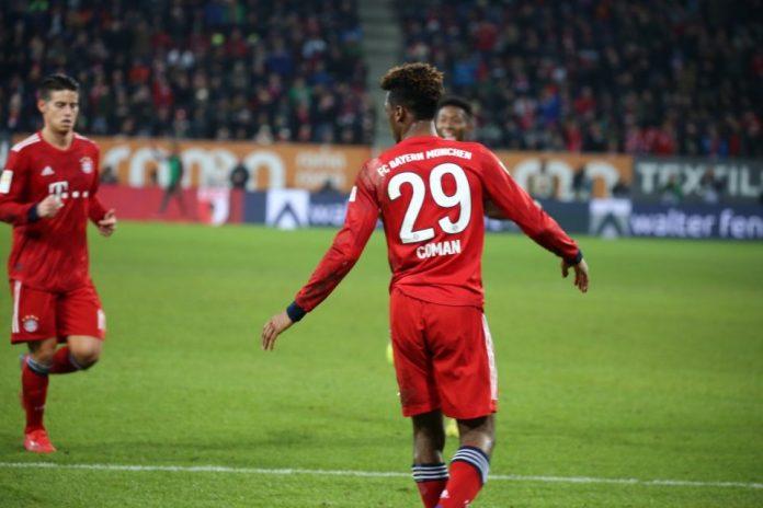 Benamkan Augsburg, Bayern Munchen Pangkas Jarak Dengan Dortmund