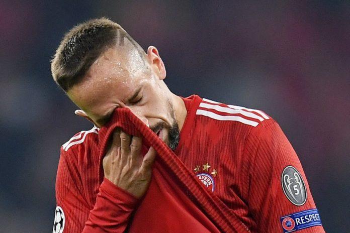 Frank Ribery Kirim Kode Merapat ke Tim Italia