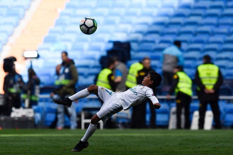 CR7: Saya Yakin Ronaldo Jr Akan Jadi Pemain Pro