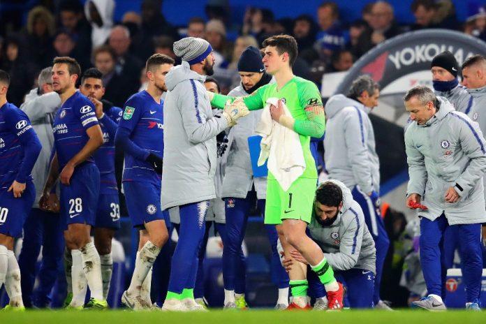 Cadangkan Kepa, Sarri; Dia Masih Kiper Nomor Satu Chelsea