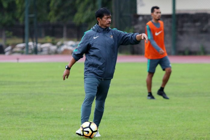 Pelatih timnas U-22 Indra Sjafri