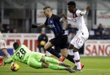 Inter Milan Tersungkur di Giuseppe Miaza
