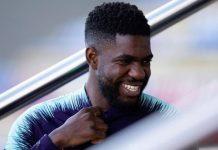 Lawan Lyon, Umtiti Dipastikan Masuk Line-up