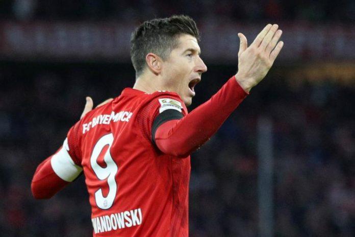 Lewandowski Sudah 100 Gol di Allianz Arena