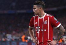 Melempem di Bayern, James Bakal Dicoret Dari Timnas Kolombia