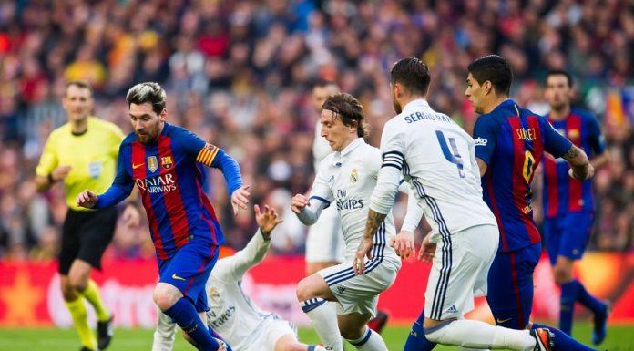 Barca Madrid El Clasico