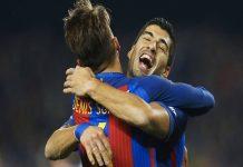 Pesan Suarez Atas Kepergian Denis Suarez ke Arsenal