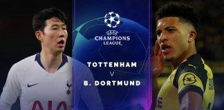 Prediksi Tottenham vs Dortmund Adu Ketajaman 2 Gelandang