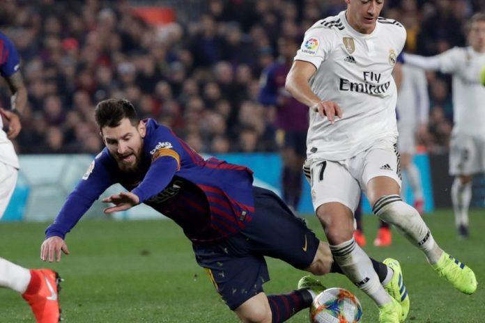 Rentetan Gol Messi Terhenti Di Laga El Classico Jilid Dua