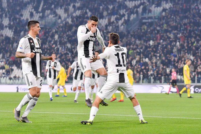 Ronaldo Cetak Hat-trick Unik Kontra Frosinone