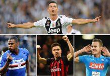 Piatek, Milik dan Zapata Siap Jegal Ronaldo Dalam Raih Gol Terbanyak