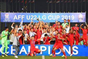 Timnas Indonesia U-22 Juara dan Pecahkan Rekor