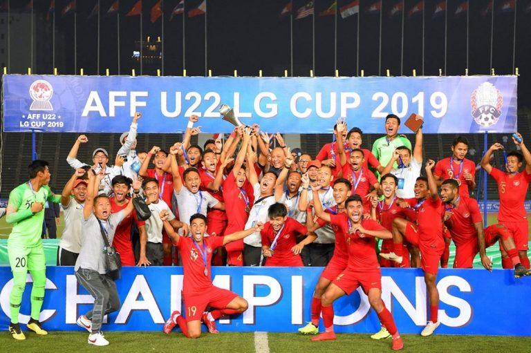 Timnas Indonesia U-22 Juara dan Pecahkan Rekor Baru