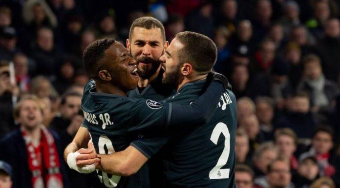 Liga Champions: Madrid Bungkam Ajax 2-1