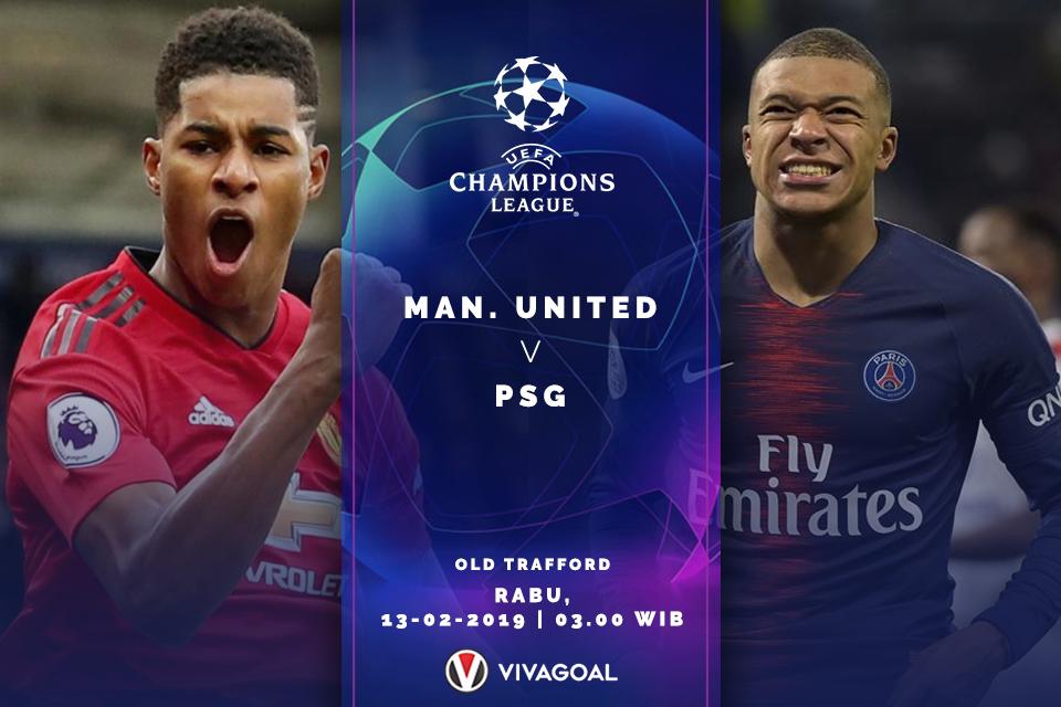 Manchester United Vs Psg Prediksi Starting Line Up Vivagoal Com
