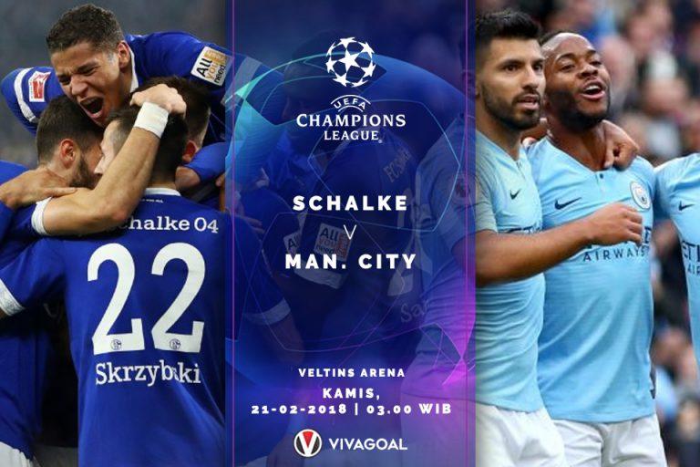 Prediksi Schalke vs City: The Citizen Diunggulkan