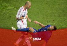 5 Fakta Kontroversial Zidane dan Materazzi di Piala Dunia 2006