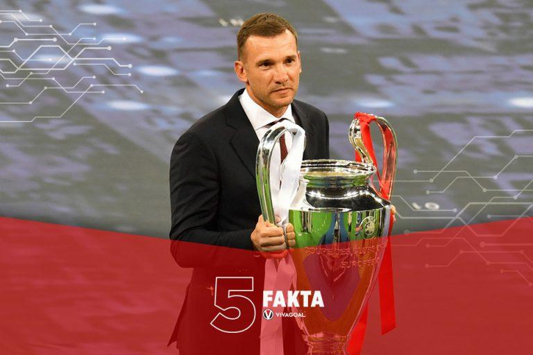 5 Fakta Perjuangan Shevchenko Menjadi Pemain Terbaik