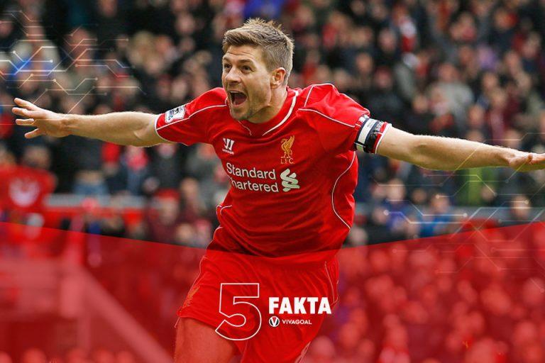5 Fakta Yang Tak Terungkap Dari Steven Gerrard