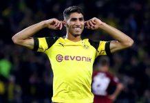 Achraf Hakimi Nikmati Musim Debutnya Bersama Dortmund