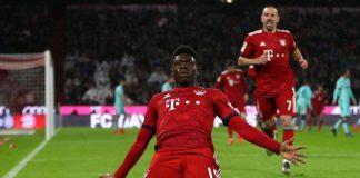 Alphonso Davies Catat Rekor Ini Bersama Bayern