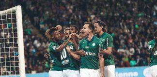 Atasi Caen 0-5, Saint-Etienne Dekati Zona Eropa